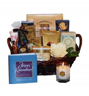 Memoria - Brown Gift Basket