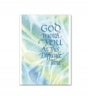 Memoria - God is With You Sympathy Card