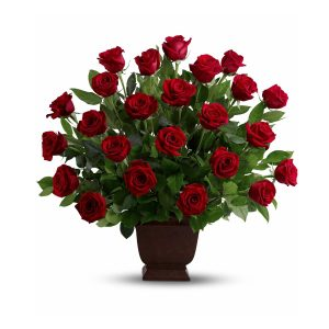 Memoria - Red Rose Flower Bouquet